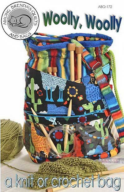 Woolly, Woolly Knit Or Crochet Bag - Click Image to Close