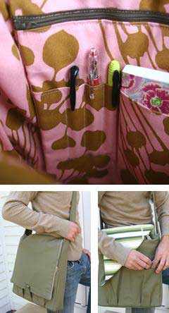 High Street Messenger Bag Pattern * - Click Image to Close
