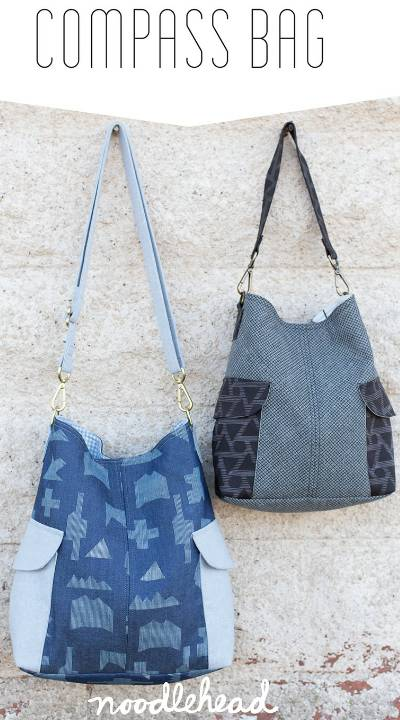 Compass Bag Pattern * - Click Image to Close