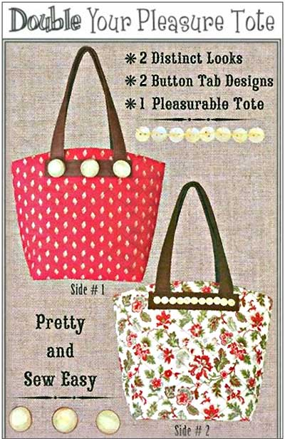 Double Your Pleasure Tote Bag Pattern - Click Image to Close