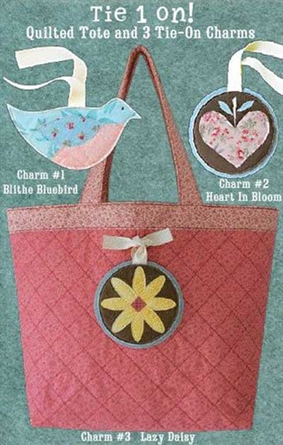 Tie 1 On Bag Pattern - Click Image to Close