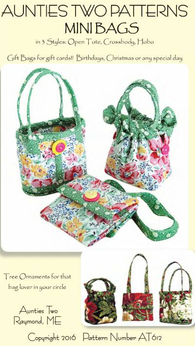 Mini Bags Pattern - Click Image to Close