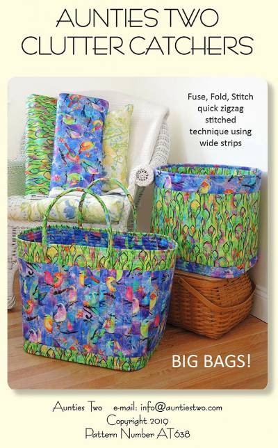 Fuse, Fold & Stitch Bags Pattern - Click Image to Close
