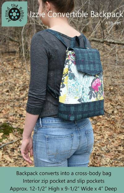 Izzie Convertible Backpack Pattern - Click Image to Close