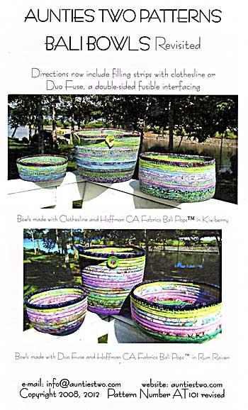 Bali Bowls Pattern - Click Image to Close