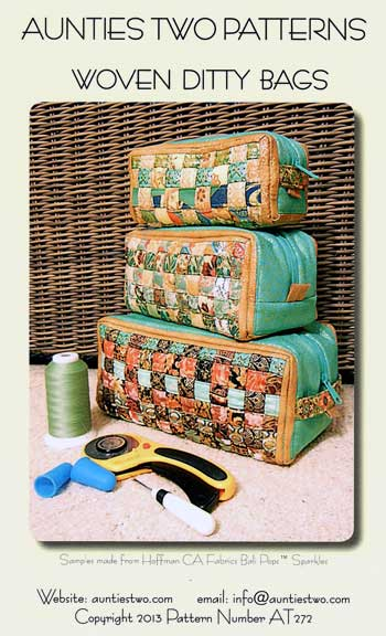 Woven Ditty Bags Pattern - Click Image to Close