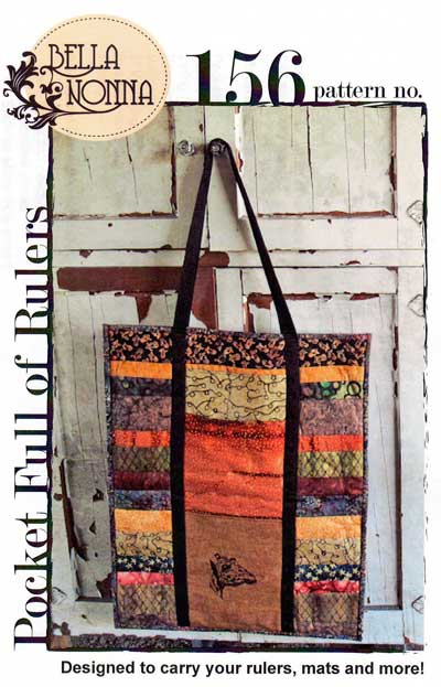 Pocket Full of Rulers Bag Pattern - Click Image to Close