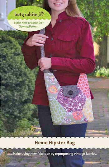 Hexie Hipster Bag Pattern * - Click Image to Close