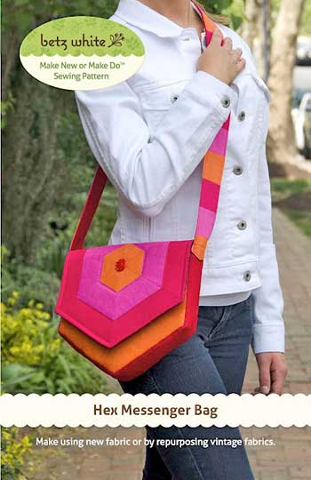 Hex Messenger Bag Pattern - Click Image to Close