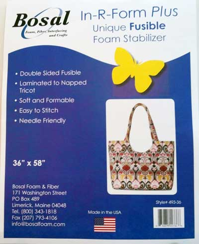 493-36 Bosal In-R-Form Plus Double Sided Fusible Stabilizer - Click Image to Close