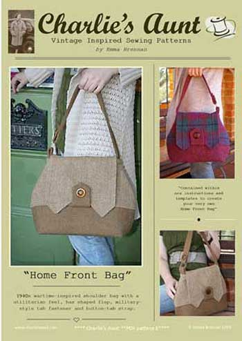 Home Front Bags Pattern * - Click Image to Close