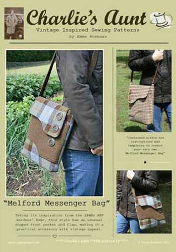 Melford Messenger Bag Pattern * - Click Image to Close