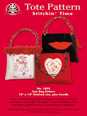 Tote Pattern-Stitchin' Time - Click Image to Close