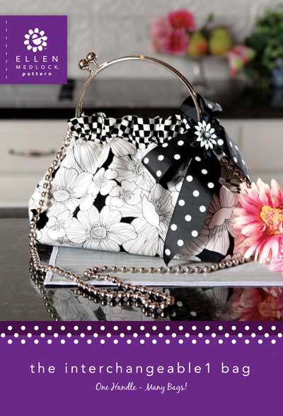 The Interchangeable 1 Bag Pattern Kit * - Black Frame - Click Image to Close