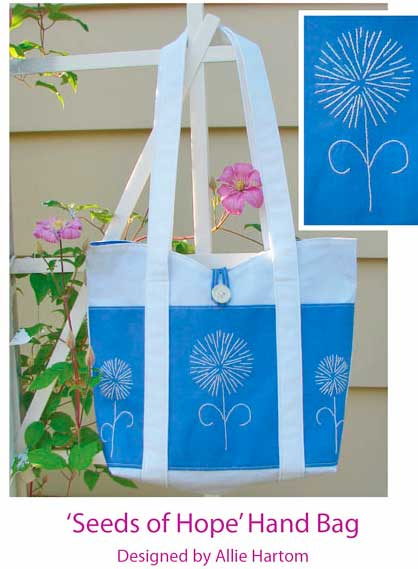 Seeds of Hope Handbag Pattern - Click Image to Close