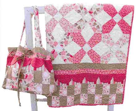 Kaylee Diaper Bag Pattern and Quilt - Click Image to Close