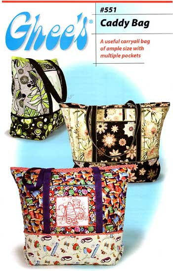Caddy Bag Pattern * - Click Image to Close