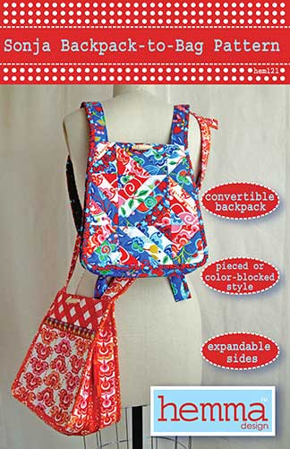 Sonja Backpack-to-Bag Pattern * - Click Image to Close