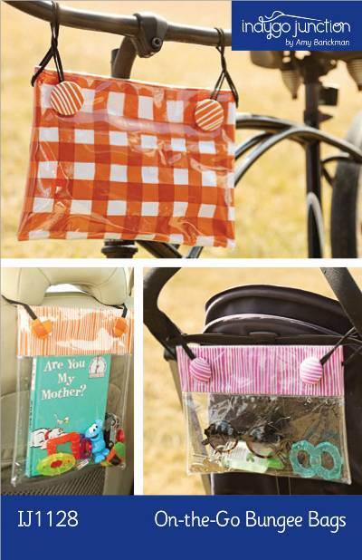 On-the-Go Bungee Bags Pattern - Click Image to Close