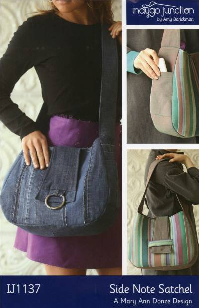 Side Note Satchel Pattern * - Click Image to Close