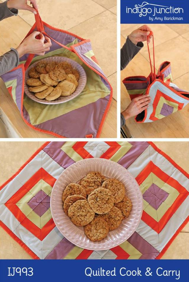 Quilted Cook & Carry Pattern - Click Image to Close