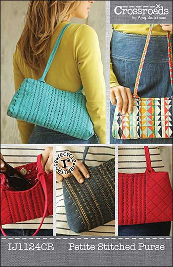 Petite Stitched Purse Pattern - Click Image to Close
