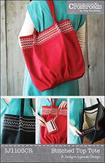 Stitched Top Tote Pattern - Click Image to Close
