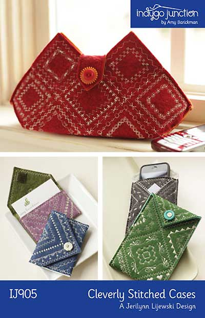 Cleverly Stitched Cases Pattern - Click Image to Close