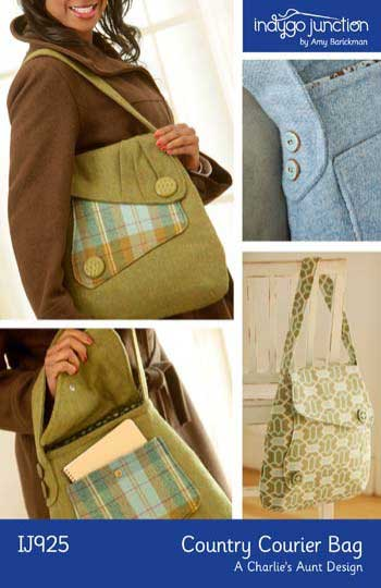Country Courier Bag Pattern * - Click Image to Close