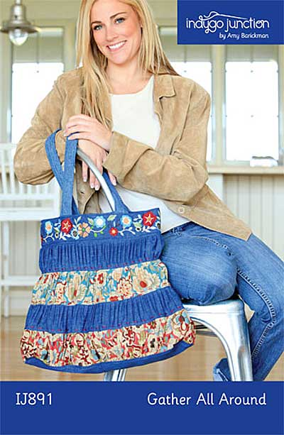 Gather All Around Bag Pattern - Click Image to Close