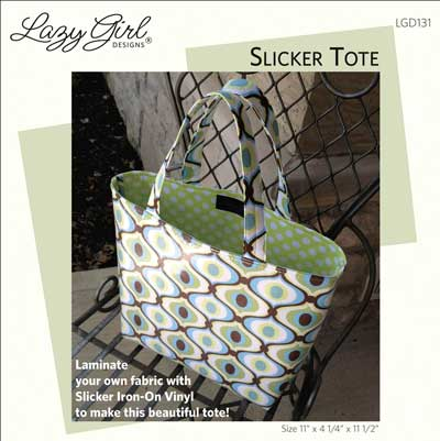 Slicker Tote Pattern - Click Image to Close