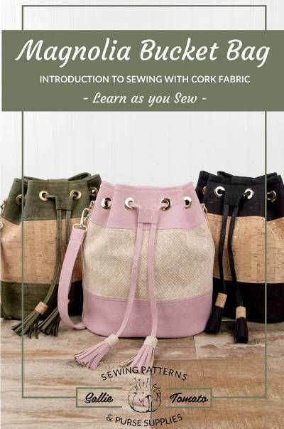 Magnolia Bucket Bag Pattern - Click Image to Close