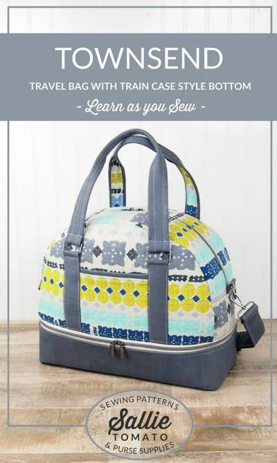 Townsend Travel Bag Pattern * - Click Image to Close