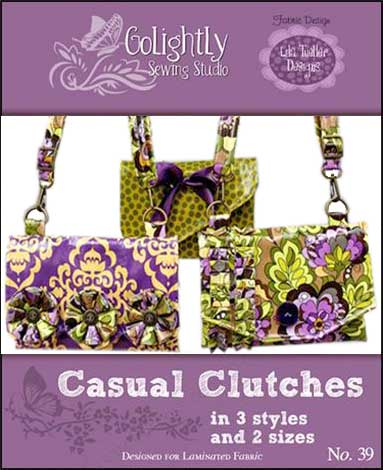 Casual Clutches Pattern Booklet * - Click Image to Close