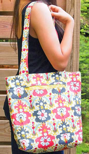 Uptown Classic Tote Pattern - Click Image to Close
