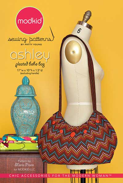 Ashley Pleated Hobo Bag Pattern * - Click Image to Close