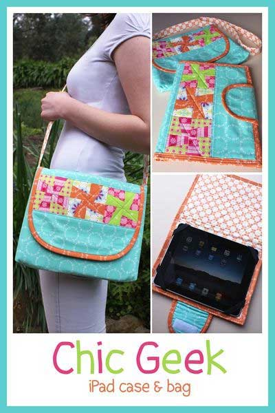 Chic Geek IPad Case and Bag Pattern - Click Image to Close