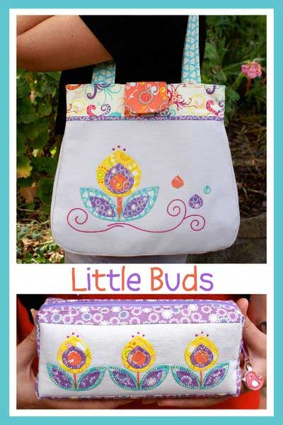 Little Buds Bag Pattern * - Click Image to Close