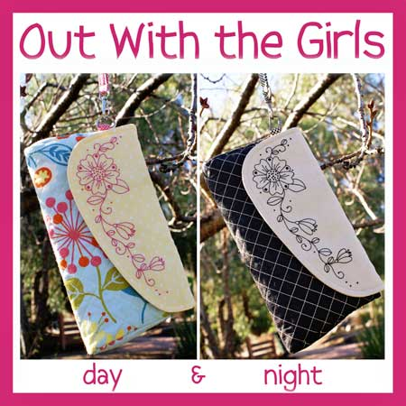 Out With The Girls Clutch Pattern * - Click Image to Close