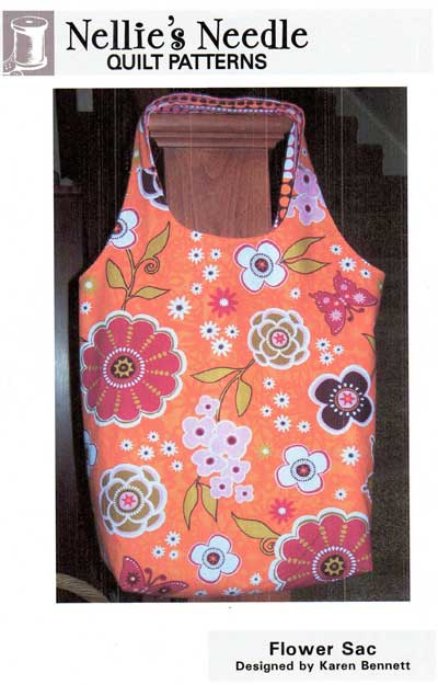 Flower Sac Bag Pattern - Click Image to Close