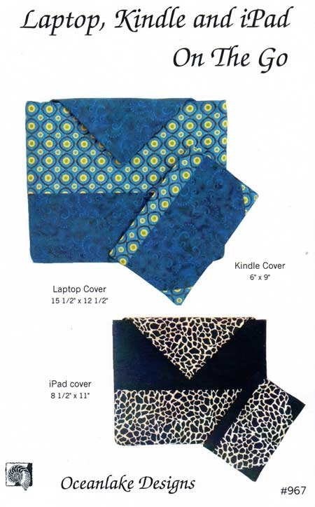 Laptop, Kindle,and iPad On The Go Pattern - Click Image to Close