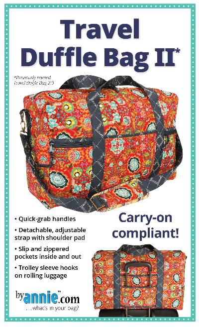 Travel Duffle Bag 2.0 Pattern - Click Image to Close
