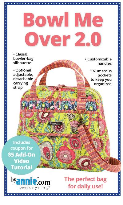 Bowl Me Over! 2.0 Bag Pattern - Click Image to Close