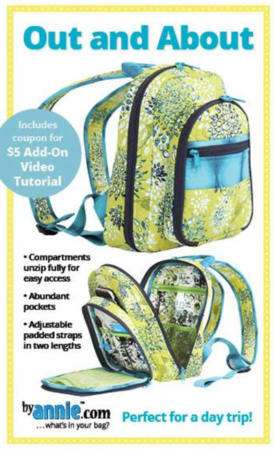 Out and About Knapsack Pattern - Click Image to Close
