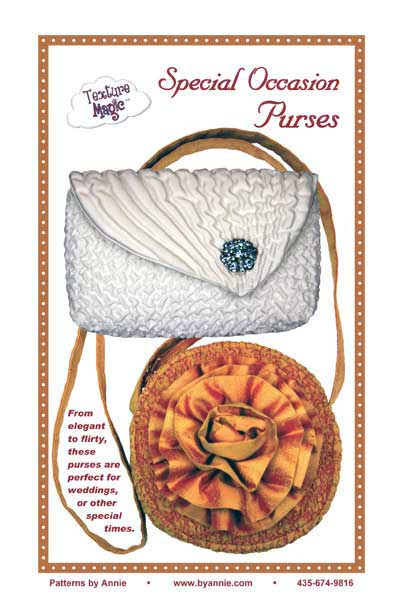 Special Occasion Purses Pattern - Click Image to Close