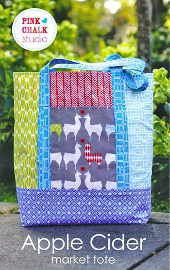 Apple Cider Market Tote Pattern - Click Image to Close