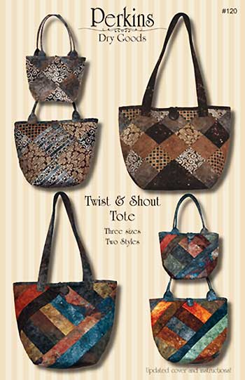 Twist and Shout Tote Pattern - Click Image to Close