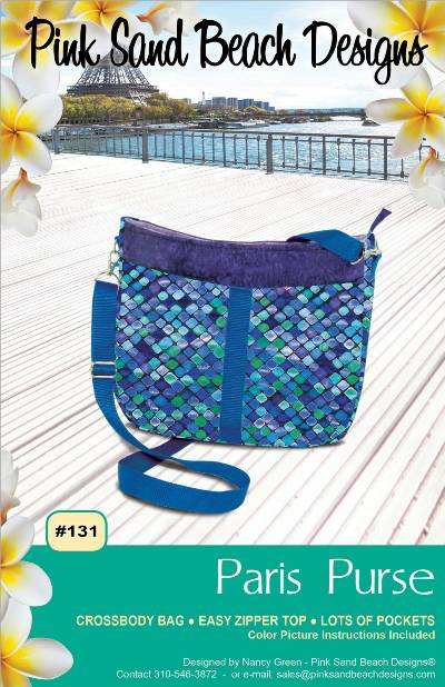 Paris Purse Pattern * - Click Image to Close