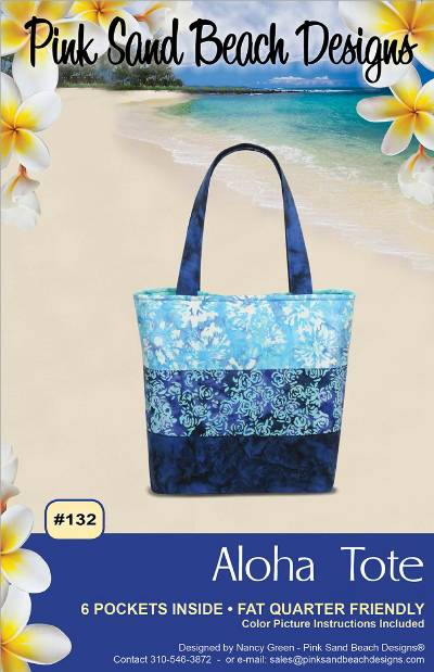 Aloha Tote Pattern - Click Image to Close