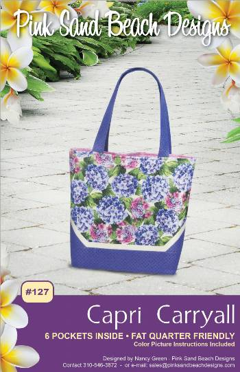 Capri Carryall Pattern - Click Image to Close